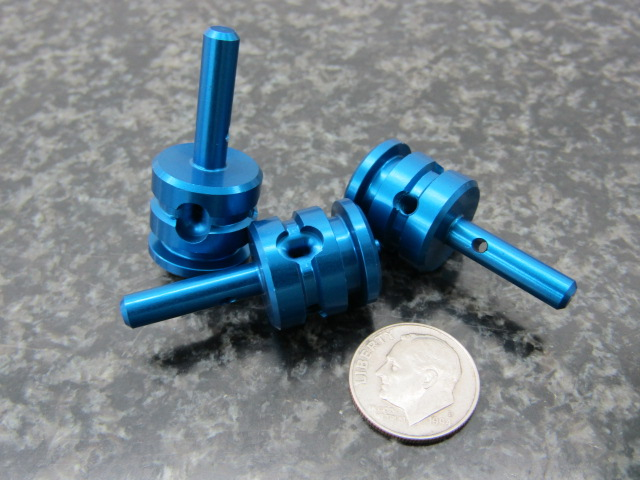 Blue Anodized Pin