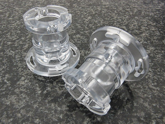 Clear Polycarbonate Adaptors